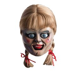 The Conjuring Annabelle Mask and Wig Set - Rubies - Horror - Costumes at Entertainment Earth