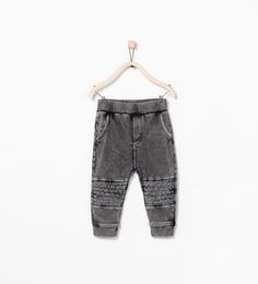 TROUSERS WITH KNEE PATCH-Trousers-Baby boy (3 months-3 years)-KIDS | ZARA Netherlands