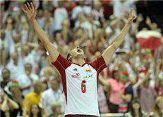 Happy Bartosz Kurek (Photo: FIVB) #FIVB #volleyball #sportspeople