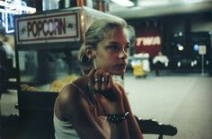 """paintdeath: Photo of model/actress Jaime King by the late photographer and pioneer of """"heroin chic"""" Davide Sorrenti."""