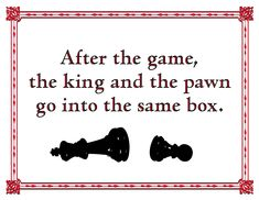 after the game king and the pawn go into the same box quotsagram quotes