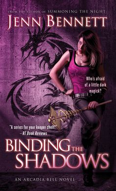 Cover Reveal: Binding the Shadows (Arcadia Bell #3) by Jenn Bennett. Cover by Tony Mauro. Coming 5/28/13