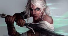The Witcher 3 - Ciri by Astri-Lohne on @DeviantArt