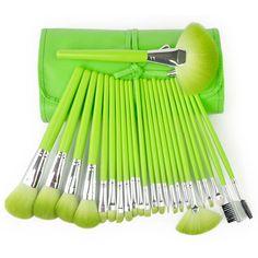 High Quality 24 Pcs/Set Makeup Brushes Cosmetic Set