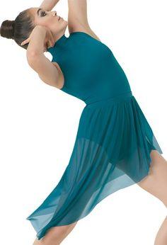 Asymmetrical Mesh Skirt | Balera™