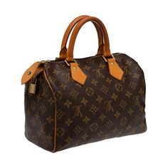 Louis Vuitton Speedy 25 Monogram Canvas. Designed specifically for Audrey Hepburn & one of my favorite everyday bags!