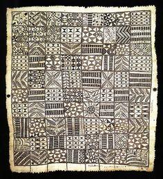 Hiapo cloth, Auckland Institute & Museum