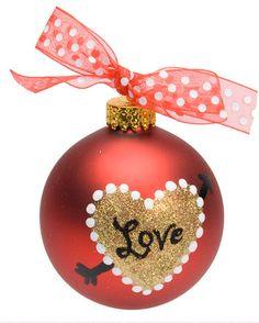 DecoArt® Pierced Heart Ornament #ornaments #craft #christmas