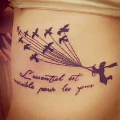 """30 Charming Tattoos Inspired By """"The Little Prince"""""""