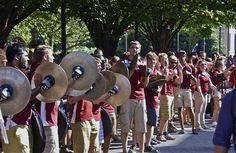 Cymbalism; Liacouras Walk; Temple University, Philadelphia, Pennsylvania, USA. September 2014.