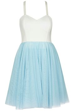 Shop Dual-tone Camisole Pastel Dress at ROMWE, discover more fashion styles online. Dressy Dresses, Cute Dresses, Summer Dresses, Pretty Outfits, Cute Outfits, Pretty Clothes, Passion For Fashion, Love Fashion, Latest Street Fashion