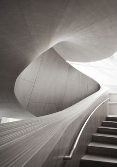 Art Gallery of Ontario's stair designed by Frank O. Gehry