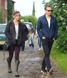 """Daily Mail Celebrity on Twitter: """"Taylor Swift gets an English country makeover for outing with Tom"""