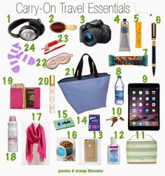 What to Pack for your Vacation in Your Carry-On