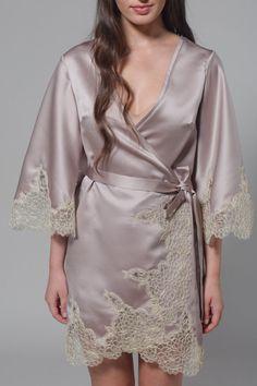 Bridal Lace Robe Getting Ready Robes Bridesmaid Robes