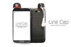 #earphone #winder #silicon #protector #cap #baseball #design #cute #smartphone #small #sumneeds #color