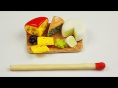polymer clay Cheese Board TUTORIAL - YouTube