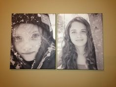 16x20 canvas of a couple of my favorite pics.