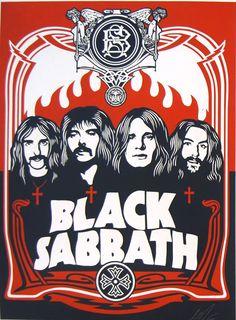 Black Sabbath The Greatest Heavy Metal Band Heavy Metal Bands, Heavy Metal Music, Metallica, Rock Posters, Band Posters, Music Posters, Hard Rock, Black Sabbath T Shirt, War Pigs