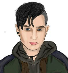 Bex Taylor-Klaus - Bullet Bex Taylor Klaus, Bullet, Drawings, Bullets, Drawing, Portrait, Illustrations