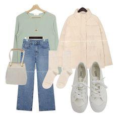 Modest Outfits, Classy Outfits, Pretty Outfits, Cool Outfits, Casual Outfits, Fashion Outfits, Korean Fashion Dress, Korean Street Fashion, Aesthetic Fashion