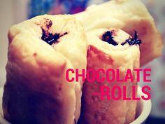 A vida de Nessy: Rolinhos de Chocolate by Coisas e Coissinhas