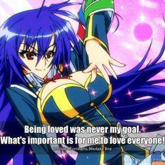 To Love Everyone(Medaka Kurokami-Medaka Box)