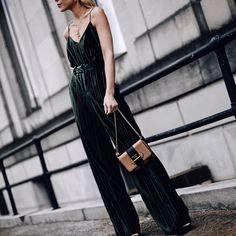 Gorgeous velvet jumpsuit - nice holiday for a house party or a big night out     Mary Lawless Lee (@happilygrey) • Instagram photos and videos Big Night Out, Girls Night Out, Happily Grey, Velvet Jumpsuit, Holiday Outfits, House Party, What To Wear, Personal Style, Glamour