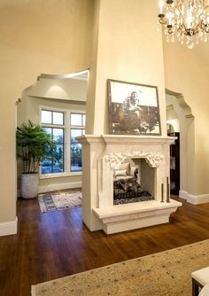 FIREPLACE SURROUNDS~ on Pinterest | Fireplaces, Mantels and Mantles