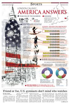 2012 London Olympics | Visit our new infographic gallery at visualoop.com/