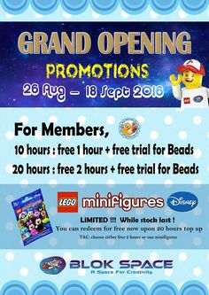 27 Aug-18 Sep 2016: Blok Space Gurney Paragon Mall Grand Opening Promotions
