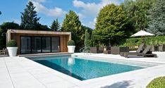 Outdoor Swimming Pool Construction & Design Company - Falcon Pools, Surrey
