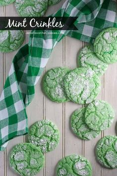 Mint Crinkles | 15 Minty Dessert Recipes To Satisfy Your Sweet Tooth
