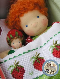 Strawberry set by Lalinda.pl