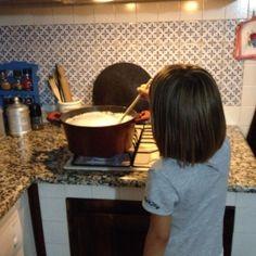 Sapone per lavatrice fatto in casa con la mia aiutante #1  Fondue, Ferrari, Cheese, Ethnic Recipes, Home