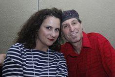 Yale Strom and Elizabeth Schwartz at 15th IAYC International Yiddish Conference