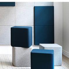 Soneo fra Abstrata hjælper med at forbedre lydniveauet i virksomheden. Bruges med fordel på kontoret, i loungeområdet og mødelokalet. Bliv inspireret her.