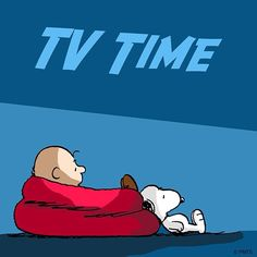 tv time. snoopy