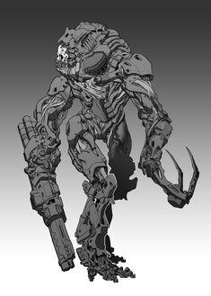 ArtStation - Cyber warrior, David Sequeira