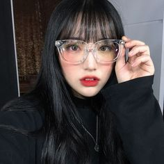 Read 52 - Girls from the story korean icons by uttyoongs (lalisa) with 699 reads. Korean Girl, Asian Girl, Bangs And Glasses, Korean Bangs, Round Eyeglasses, Uzzlang Girl, Pretty Asian, Ulzzang Fashion, Face Shapes