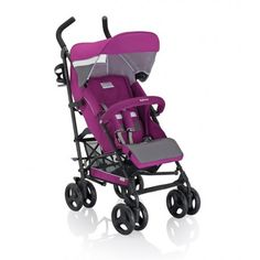 SILLA DE PASEO INGLESINA TRIP: silla ligera para bebés de 6 a 36 meses, con respaldo reclinable en 4 posiciones. Incluye capota, cesta, burbuja y porta-biberón.