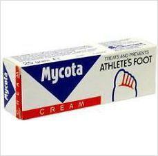 MYCOTA ATHLETE'S FOOT CREAM 30G BRAND NEW BOXED £2.99+FREE POSTAGE 5011309893014 on eBid United Kingdom