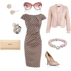 50s Housewife meets Modern Business Woman.