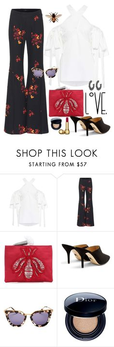 """""""Bee....My Baby"""" by jacque-reid ❤ liked on Polyvore featuring E L L E R Y, Sanayi 313, Paul Andrew, Prada and Christian Dior"""