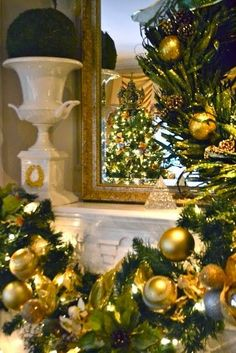 Insanely Gorgeous Christmas / Holiday Rooms – South Shore Decorating Blog