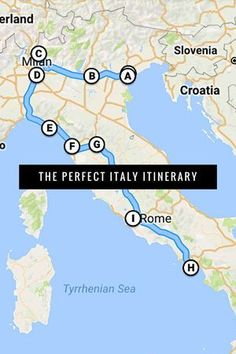 Planning a trip to Italy? Here is the perfect itinerary to see it all - Rome, Florence, Amalfi Coast, Cinque Terre, and more!