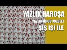 YAZLIKLAR İÇİN DEĞİŞİK HARAŞO ÖRGÜ MODELİ YAPILIŞI TÜRKÇE VİDEOLU | Nazarca.com