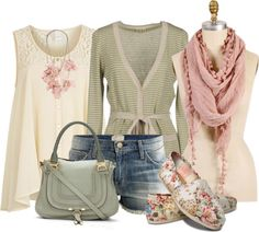 """I really like how all of these pastels come together.  """"Tom 1"""" by nohaf on Polyvore"""