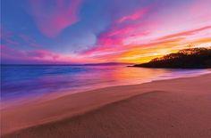 Makena Beach Maui - Most Romantic Sunsets