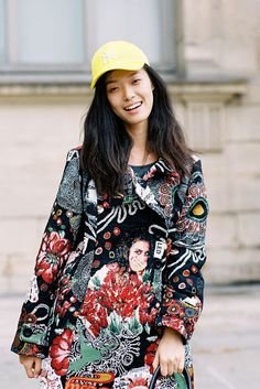 Tian Yi (Storm), after Louis Vuitton, Paris #VanessaJackman